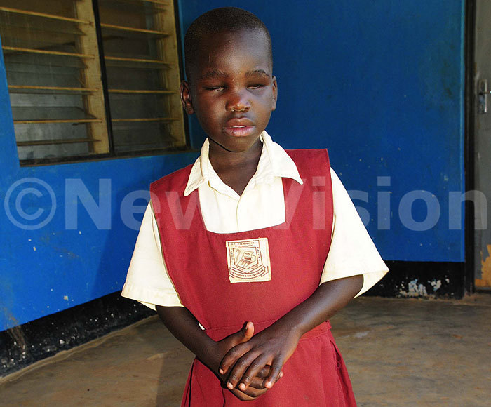 Drop in the Bucket=New Vision Article- Noella Amoding-St Francis School For the Blind- Uganda