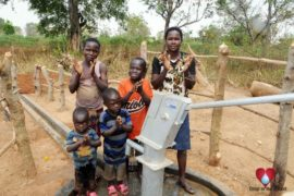 Drop in the Bucket Uganda water well Akumoi village 14