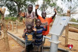 Drop in the Bucket Uganda water well Akumoi village 18