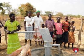 Drop in the Bucket Uganda water well Atigo village 100