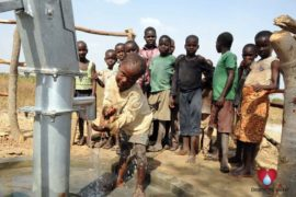 Drop in the Bucket Uganda water well Atigo village 41