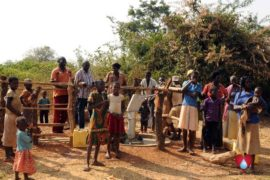 Drop in the Bucket Uganda water well Obangin village 01