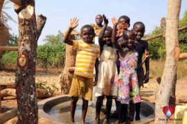 Drop in the Bucket Uganda water well Obangin village 15