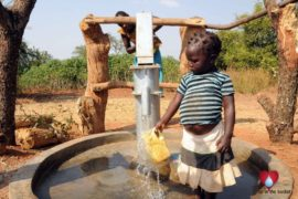 Drop in the Bucket Uganda water well Obangin village 30