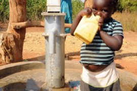 Drop in the Bucket Uganda water well Obangin village 34