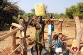 Drop in the Bucket Uganda water well Obangin village 36