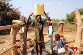 Drop in the Bucket Uganda water well Obangin village 42