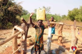 Drop in the Bucket Uganda water well Obangin village 45