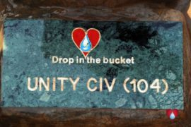 Drop in the Bucket Uganda water well Obangin village 58
