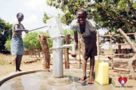 Drop in the Bucket Uganda water well Okidi village 20
