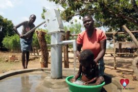 Drop in the Bucket Uganda water well Okidi village 34