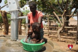 Drop in the Bucket Uganda water well Okidi village 36