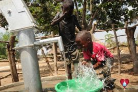 Drop in the Bucket Uganda water well Okidi village 50