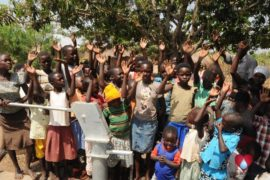 Drop in the Bucket Uganda water well Okidi village 63
