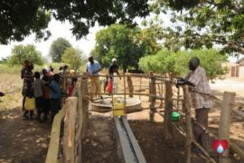 Drop in the Bucket Uganda water well Okidi village 74