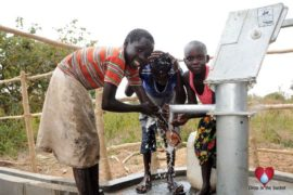Drop in the Bucket Uganda water well Oyilotor village 07