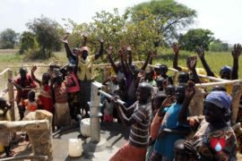 Drop in the Bucket Uganda water well Oyilotor village 42