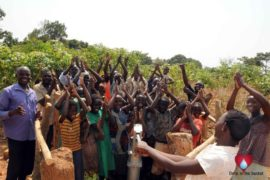 Drop in the Bucket Uganda water well Aisin village 00