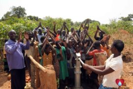 Drop in the Bucket Uganda water well Aisin village 01