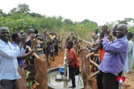 Drop in the Bucket Uganda water well Aisin village 09