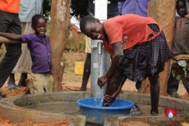 Drop in the Bucket Uganda water well Aisin village 13