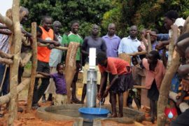 Drop in the Bucket Uganda water well Aisin village 14