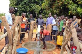 Drop in the Bucket Uganda water well Aisin village 15