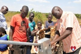 Drop in the Bucket Uganda water well Gwetom village 24