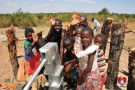 Drop in the Bucket Uganda water well Gwetom village 31