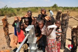 Drop in the Bucket Uganda water well Gwetom village 32