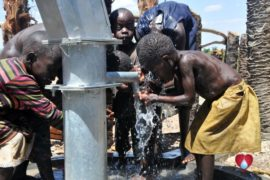 Drop in the Bucket Uganda water well Gwetom village 45