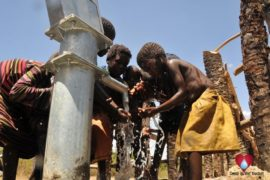 Drop in the Bucket Uganda water well Gwetom village 55