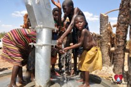 Drop in the Bucket Uganda water well Gwetom village 58