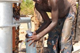Drop in the Bucket Uganda water well Gwetom village 70
