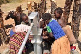 Drop in the Bucket Uganda water well Gwetom village 78