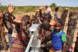 Drop in the Bucket Uganda water well Gwetom village 79