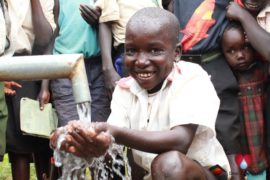 Drop in the Bucket water well Ogo Primary School Koboko Uganda75